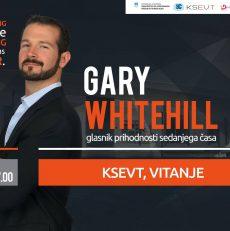 Podjetniški večer prihodnosti, gost Gary Whitehill (13.4.2017 @KSEVT Vitanje)