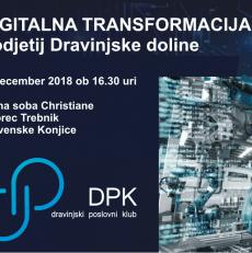 VABILO – Oblikovanje strategije DPK – Delavnica digitalna transformacija podjetij Dravinjske doline 🗓 🗺