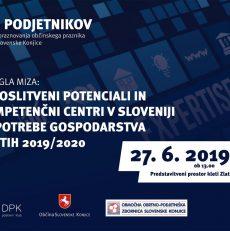OKROGLA MIZA: Zaposlitveni potenciali in kompetenčni centri v Sloveniji za potrebe gospodarstva v letu 2019/2020 🗓 🗺